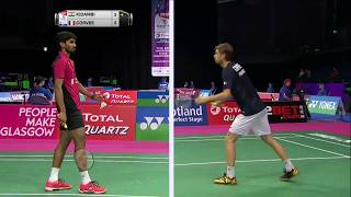 【Video】KIDAMBI Srikanth VS Lucas CORVEE, TOTAL BWF World Championships 2017 best 32