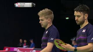 【Video】Marcus ELLIS・Chris LANGRIDGE VS Dominik STIPSITS・Roman ZIRNWALD, TOTAL BWF World Championships 2017 best 32