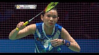 【Video】TAI Tzu Ying VS Ratchanok INTANON, YONEX All England Open finals