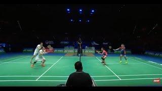 【Video】LU Kai・HUANG Yaqiong VS CHAN Peng Soon・GOH Liu Ying, YONEX All England Open finals