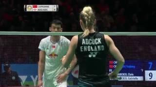 【Video】LU Kai・HUANG Yaqiong VS Chris ADCOCK・Gabrielle ADCOCK, YONEX All England Open semifinal
