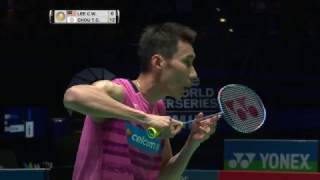 【Video】LEE Chong Wei VS CHOU Tien Chen, YONEX All England Open semifinal