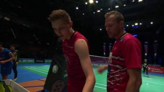 【Video】LIN Dan VS Viktor AXELSEN, YONEX All England Open quarter finals
