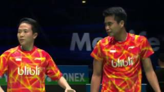 【Video】Chris ADCOCK・Gabrielle ADCOCK VS Tontowi AHMAD・Liliyana NATSIR, YONEX All England Open quarter finals