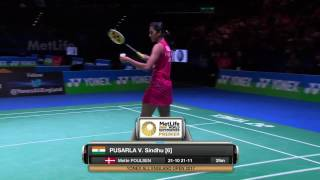 【Video】PUSARLA V. Sindhu VS Dinar Dyah AYUSTINE, YONEX All England Open best 16