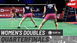 【Video】Mayu MATSUMOTO・Wakana NAGAHARA VS Maiken FRUERGAARD・Sara THYGESEN, DANISA Denmark Open 2020 quarter finals