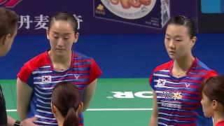 【Video】LEE So Hee・SHIN Seung Chan VS Shiho TANAKA・Koharu YONEMOTO, DANISA Denmark Open finals