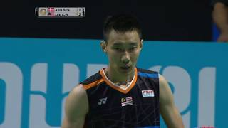 【Video】Viktor AXELSEN VS LEE Chong Wei, Dubai World Superseries Finals 2017 finals