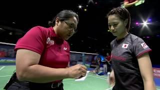 【Video】Shiho TANAKA/Koharu YONEMOTO VS Yuki FUKUSHIMA/Sayaka HIROTA, Dubai World Superseries Finals 2017 finals