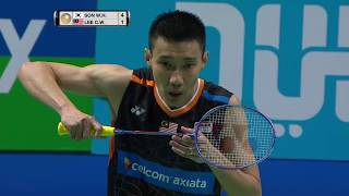 【Video】LEE Chong Wei VS SON Wan Ho, Dubai World Superseries Finals 2017 semifinal