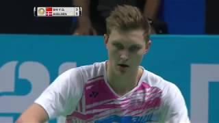 【Video】SHI Yuqi VS Viktor AXELSEN, Dubai World Superseries Finals 2017 semifinal
