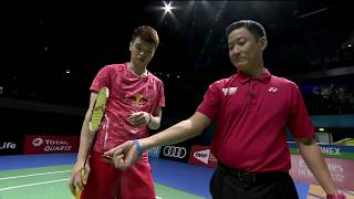 【Video】TANG Chun Man/TSE Ying Suet VS WANG Yilyu/HUANG Dongping, Dubai World Superseries Finals 2017 semifinal