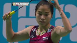 【Video】TAI Tzu Ying VS Ratchanok INTANON, Dubai World Superseries Finals 2017 other