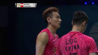 【Video】Marcus Fernaldi GIDEON/Kevin Sanjaya SUKAMULJO VS LIU Cheng/ZHANG Nan, Dubai World Superseries Finals 2017 finals
