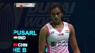 【Video】PUSARLA V. Sindhu VS HE Bingjiao, Dubai World Superseries Finals 2017 other