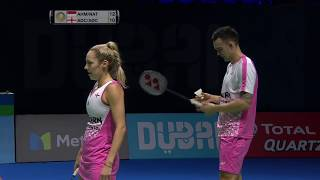 【Video】Tontowi AHMAD/Liliyana NATSIR VS Chris ADCOCK/Gabrielle ADCOCK, Dubai World Superseries Finals 2017 other