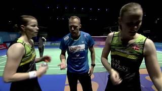 【Video】Kamilla Rytter JUHL/Christinna PEDERSEN VS JUNG Kyung Eun/SHIN Seung Chan, Dubai World Superseries Finals 2017 other