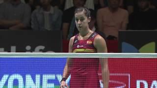 【Video】HE Bingjiao VS Carolina MARIN, DAIHATSU YONEX Japan Open finals