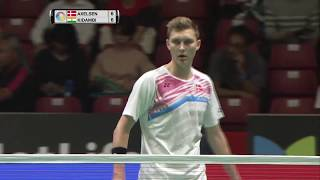 【Video】Viktor AXELSEN VS KIDAMBI Srikanth, DAIHATSU YONEX Japan Open quarter finals