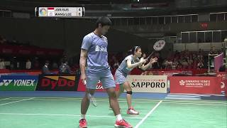 【Video】Praveen JORDAN/Debby SUSANTO VS WANG Chi-Lin/LEE Chia Hsin, DAIHATSU YONEX Japan Open quarter finals