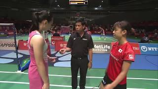 【Video】Beiwen ZHANG VS Nozomi OKUHARA, DAIHATSU YONEX Japan Open quarter finals