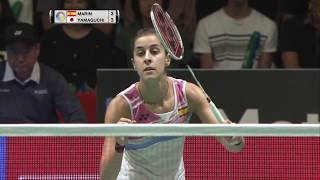 【Video】Carolina MARIN VS Akane YAMAGUCHI, DAIHATSU YONEX Japan Open quarter finals
