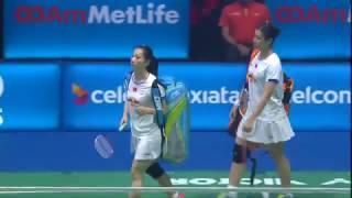 【Video】Yuki FUKUSHIMA/Sayaka HIROTA VS HUANG Yaqiong/TANG Jinhua, CELCOM AXIATA Malaysia Open finals