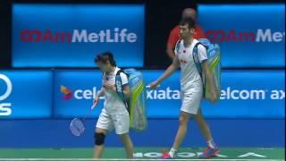 【Video】ZHENG Siwei/CHEN Qingchen VS LU Kai/HUANG Yaqiong, CELCOM AXIATA Malaysia Open finals
