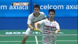 【Video】Marcus Fernaldi GIDEON/Kevin Sanjaya SUKAMULJO VS Takeshi KAMURA/Keigo SONODA, CELCOM AXIATA Malaysia Open semifinal