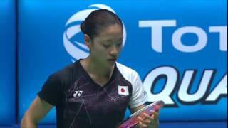 【Video】Nozomi OKUHARA VS Carolina MARIN, CELCOM AXIATA Malaysia Open semifinal