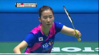 【Video】HUANG Yaqiong/TANG Jinhua VS CHANG Ye Na/LEE So Hee, CELCOM AXIATA Malaysia Open semifinal