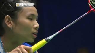 【Video】TAI Tzu Ying VS SUNG Ji Hyun, CELCOM AXIATA Malaysia Open semifinal