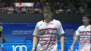 【Video】Marcus Fernaldi GIDEON/Kevin Sanjaya SUKAMULJO VS LI Junhui/LIU Yuchen, CELCOM AXIATA Malaysia Open quarter finals