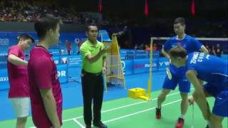 【Video】Marcus Fernaldi GIDEON/Kevin Sanjaya SUKAMULJO VS LIU Cheng/ZHANG Nan, CELCOM AXIATA Malaysia Open best 16