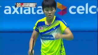 【Video】CHEN Yufei VS GOH Jin Wei, CELCOM AXIATA Malaysia Open best 16