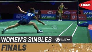 【Video】Nozomi OKUHARA VS Pornpawee CHOCHUWONG, YONEX All England Open Badminton Championships 2021 finals