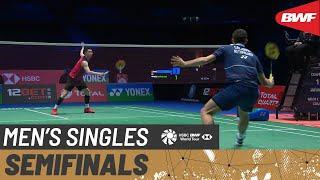 【Video】Mark CALJOUW VS LEE Zii Jia, YONEX All England Open Badminton Championships 2021 semifinal