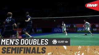 【Video】Hiroyuki ENDO/Yuta WATANABE VS Jeppe BAY/Lasse MØLHEDE, YONEX All England Open Badminton Championships 2021 semifinal
