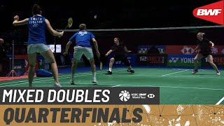 【Video】Marcus ELLIS/Lauren SMITH VS Mikkel MIKKELSEN/Rikke SØBY, YONEX All England Open Badminton Championships 2021 quarter fin