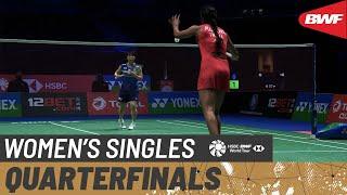 【Video】Akane YAMAGUCHI VS PUSARLA V. Sindhu, YONEX All England Open Badminton Championships 2021 quarter finals