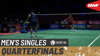 【Video】Sitthikom THAMMASIN VS Viktor AXELSEN, YONEX All England Open Badminton Championships 2021 quarter finals