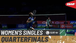 【Video】Nozomi OKUHARA VS Busanan ONGBAMRUNGPHAN, YONEX All England Open Badminton Championships 2021 quarter finals
