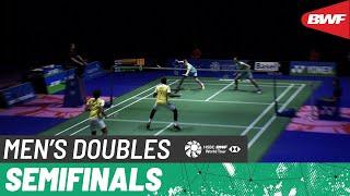 【Video】Kim ASTRUP/Anders Skaarup RASMUSSEN VS Satwiksairaj RANKIREDDY/Chirag SHETTY, YONEX Swiss Open 2021  semifinal