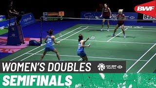 【Video】Gabriela STOEVA/Stefani STOEVA VS Jongkolphan KITITHARAKUL/Rawinda PRAJONGJAI, YONEX Swiss Open 2021  semifinal