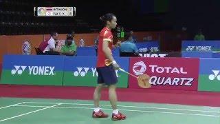 【Video】Ratchanok INTANON VS TAI Tzu Ying, YONEX SUNRISE India Open quarter finals