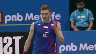 【Video】Viktor AXELSEN VS Kento MOMOTA, YONEX SUNRISE India Open finals