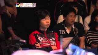 【Video】Joachim FISCHER NIELSEN・Christinna PEDERSEN VS KIM Gi Jung・SHIN Seung Chan, Yonex Open Japan semifinal