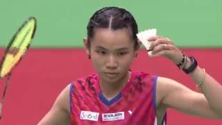 【Video】Nitchaon JINDAPOL VS TAI Tzu Ying, YONEX Open Chinese Taipei semifinal