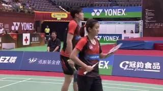 【Video】・CHEN Qingchen VS TAN Kian Meng・LAI Pei Jing, YONEX Open Chinese Taipei finals