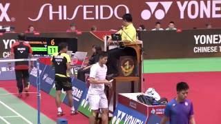 【Video】Iskandar ZULKARNAIN VS CHOU Tien Chen, YONEX Open Chinese Taipei semifinal